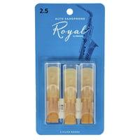 DAddario Woodwinds : Royal Alto Sax 2.5 - 3-Pack