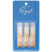 DAddario Woodwinds : Royal Bb- Clar 1.5 - 3-Pack
