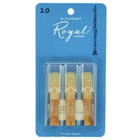 DAddario Woodwinds : Royal Bb- Clar 2.0 - 3-Pack