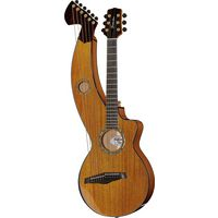 Timberline Guitars : T30HGpc-e Harp Guitar