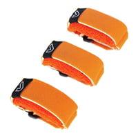 Gruvgear : Fretwraps SM Flare Orange 3P