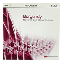 Bow Brand : Burgundy Ped. 1st F Gut No.07