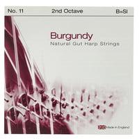 Bow Brand : Burgundy Ped. 2nd B Gut No.11