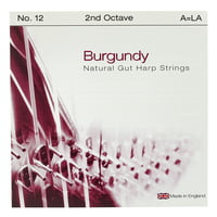 Bow Brand : Burgundy Ped. 2nd A Gut No.12