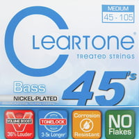 Cleartone : Nickel Plated Bass 6445