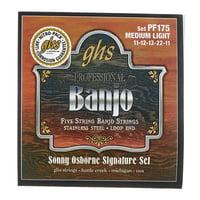 GHS : PF175 5-String Banjo Set