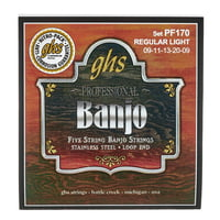GHS : PF170 5-String Banjo Set