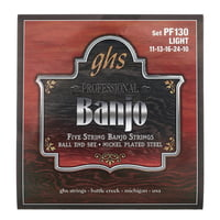 GHS : PF130 5-String Banjo Set
