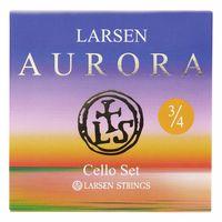 Larsen : Aurora Cello Strings Set 3/4 M
