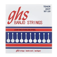GHS : 220 Banjo String Set Light
