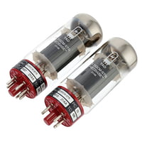 TAD : 6L6GCM-STR Red Matched Pair