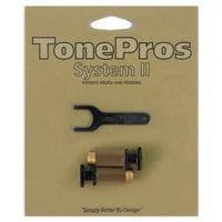 TonePros : SPRS2 B Brass Locking Studs