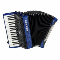 Hohner : Bravo III 96 silent key blue