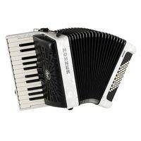 Hohner : Bravo II 48 White silent key