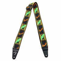 Fender : Neon Strap Green/Orange