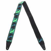 Fender : Neon Strap Green/Blue