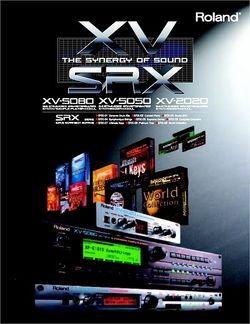 Prospekt mit SRX Bords und kompatible Instrumente