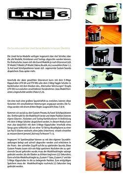 Info zur Soundauswahl