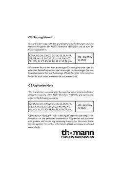CE Nutzungsbedingungen