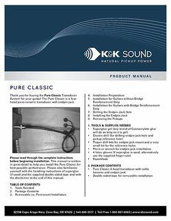 Manual: Pureclassic