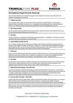 8 Regeln für bestes Stimmergebnis