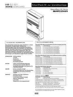 ETC SmartPACK WM Datenblatt