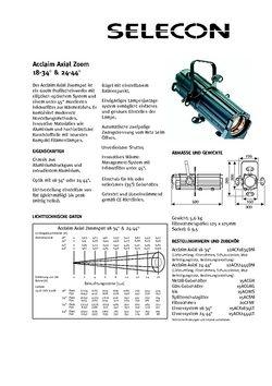 Selecon Datenblatt ACCLAIM 24°- 44°