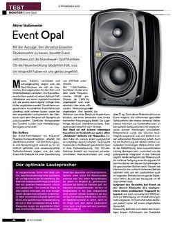 KEYS Event Opal