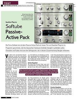 KEYS Softube Passive-Active Pack