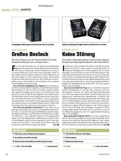 Tastenwelt Kurztests: QSC K12/KSub; Cordial CES01; JB Systems Taurus