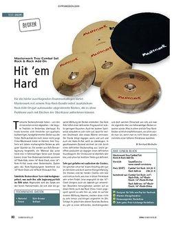 Soundcheck Test: Masterwork Troy Cymbal Set Rock & Rock Add On/Istanbul Mehmet Mikael Z Tribute/Sabian AAXplosion Fast Crashes