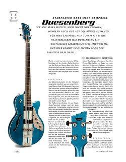 Gitarre & Bass Duesenberg Starplayer Bass Mike Campbell, E-Bass