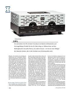 Gitarre & Bass SPL Cabulator, Load-Box & Speaker-Simulator