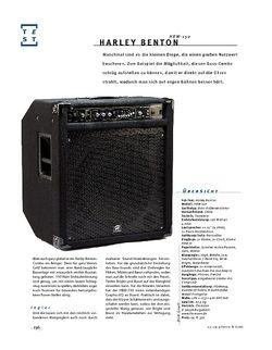 Gitarre & Bass Harley Benton HBW-150, Bass-Combo