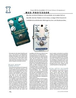 Gitarre & Bass Mad Professor Snow White AutoWah & Forest Green Compressor