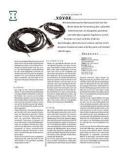 Gitarre & Bass Vovox sonorus protect A, Instrumenten-Kabel