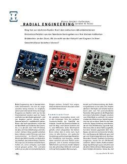 Gitarre & Bass Radial Engineering Bones Series: Fullerton, London & Texas