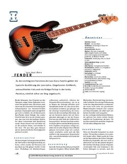 Gitarre & Bass Fender '70s Jazz Bass