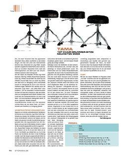 Sticks Tama 1st Chair Hydraulic Drummer-Sitze