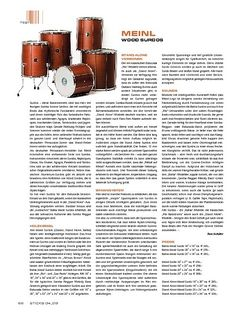 Sticks Meinl Wood Surdos