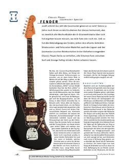 Gitarre & Bass Fender Classic Player Jazzmaster Special, E-Gitarre