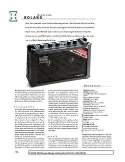Gitarre & Bass Roland Mobile Cube