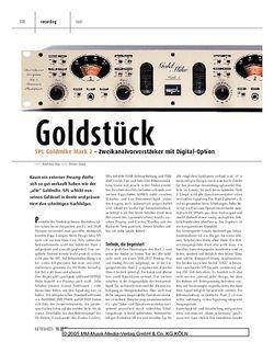 Keyboards SPL Goldmike Mark 2