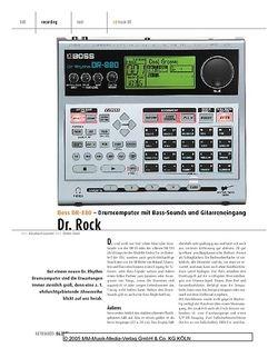 Keyboards Boss DR-880