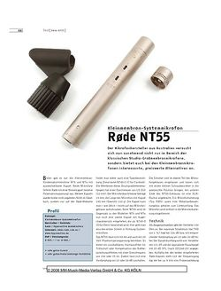 Sound & Recording Rode NT55