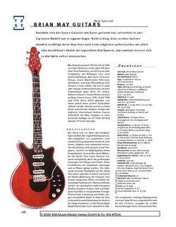 Gitarre & Bass Brian May Guitars Red Special, E-Gitarre