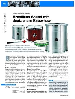 DrumHeads Test: Meinl Samba Serie