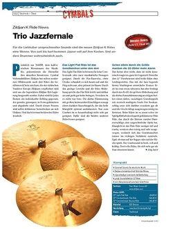 DrumHeads Instrumente & Technik: Zildjian K Ride News
