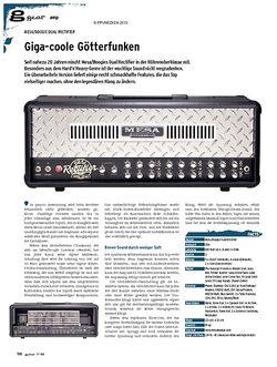 Guitar gear Amp - Mesa/Boogie Dual Rectifier