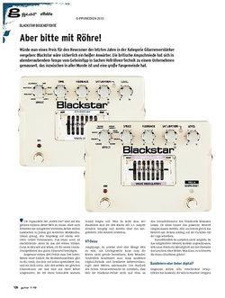 Guitar gear Effekte - Blackstar Bodeneffekte